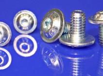 socket button flange screws
